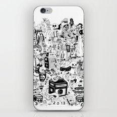 HONG KONG CLUB iPhone & iPod Skin