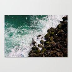 Sea and Rocks Canvas Print