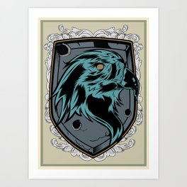 save the eagles Art Print
