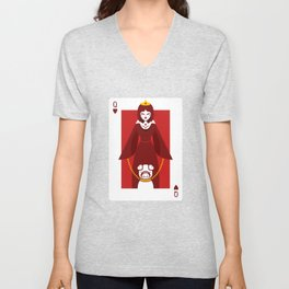 Queen of Hearts - Queen Circe Unisex V-Neck