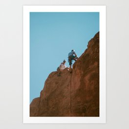 Climbers, Garden of the Gods Art Print