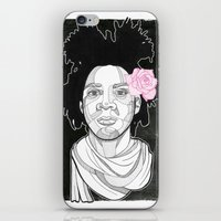 basquiat iPhone & iPod Skins featuring Basquiat by DonCarlos