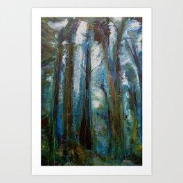 Lauren Nemchik - Trees Art Print