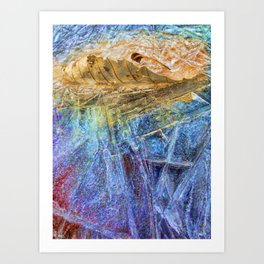 Feathered Accumulation Art Print