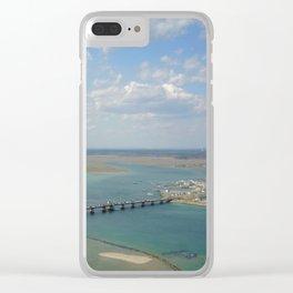 Bridge To Hampton Clear iPhone Case