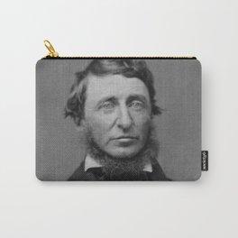 Benjamin Maxham - portrait of Henry David Thoreau Carry-All Pouch