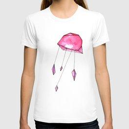 Geometric jellyfish T-shirt