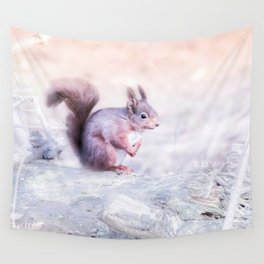 little squirrel Wall Tapestry