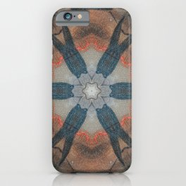 Bushfire Gum Medallion 7 iPhone Case