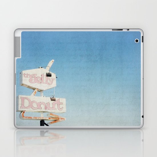 the jelly donut Laptop & iPad Skin