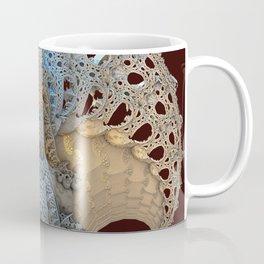 The Fan - Fractal Art Coffee Mug