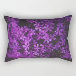 Purple Blossoms Rectangular Pillow