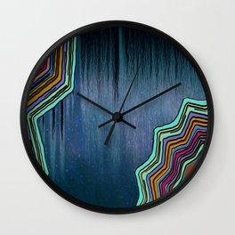 Into the Deep Wall Clock