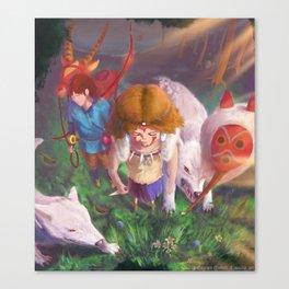 Princess Mononokkkkkkkkke Canvas Print