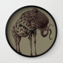 The Giraffetopus  Wall Clock