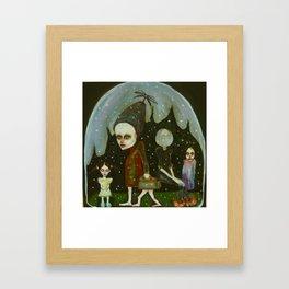 snowglobe company Framed Art Print