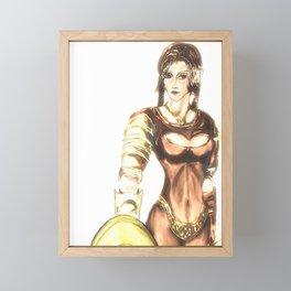 elf Framed Mini Art Print