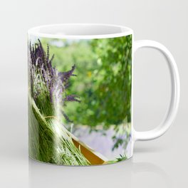 Lavender Bunches in Provence France Coffee Mug
