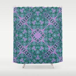 Mehndi Ethnic Style G457 Shower Curtain