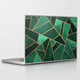 Emerald and Copper Laptop & iPad Skin