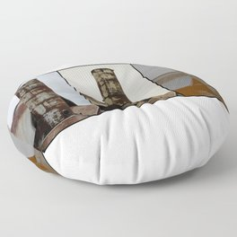 Tall and Strong - Industrial Art Floor Pillow