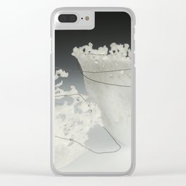 Giving Circle Detail Clear iPhone Case