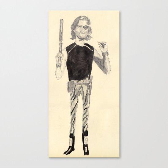 snake plissken Canvas Print