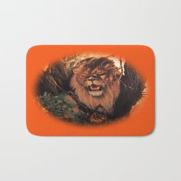 Season Of the Big Cat - Lion Through the Lens Bath Mat