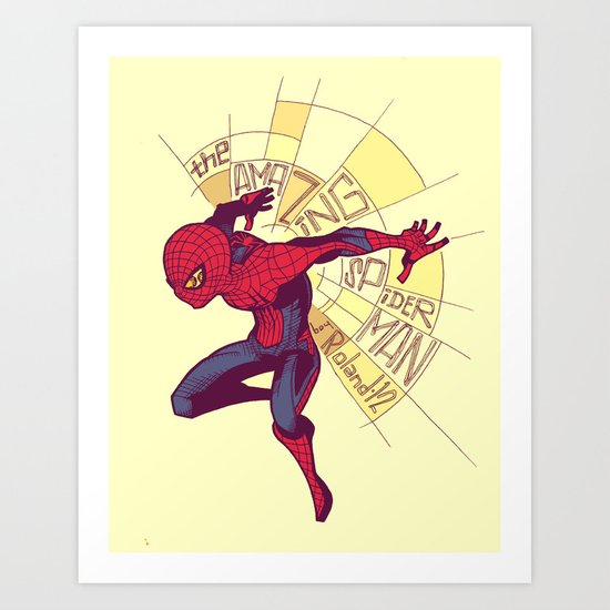 The Amazing Spider-Man: Day Break Art Print