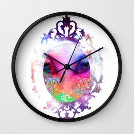 ALIEN HORSE Wall Clock