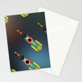 Transistor Swords Stationery Cards