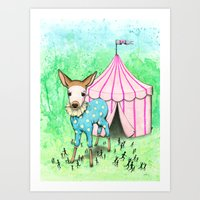 Escape the Big Top Art Print
