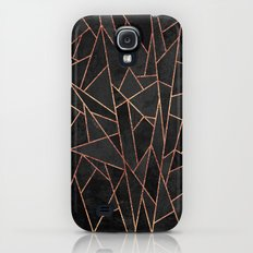 Shattered Black / 2 Galaxy S4 Slim Case
