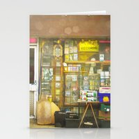 record Stationery Cards featuring Record Store by Cassia Beck