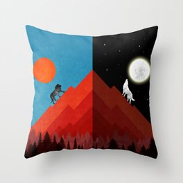 Bosses Throw Pillow