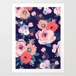 Aurora Floral Art Print
