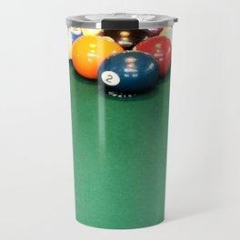 Billiard Balls Racked Travel Mug