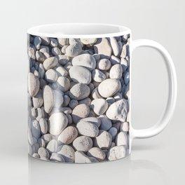 River stones on bank of Oregon river Coffee Mug