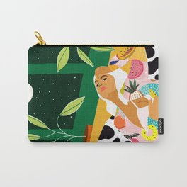 Moon Lover #illustration #feminism Carry-All Pouch