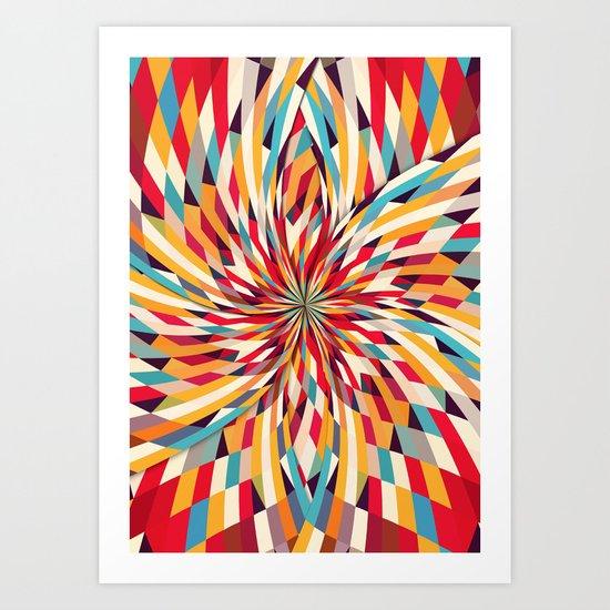 In Flower Art Print