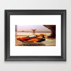 Speeder/Shuttle Framed Art Print