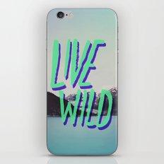 Live Wild: Alaska iPhone & iPod Skin