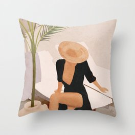 That Summer Feeling I Throw Pillow