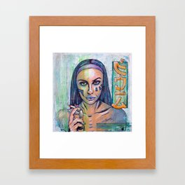 Mona Lisa Overdrive Framed Art Print