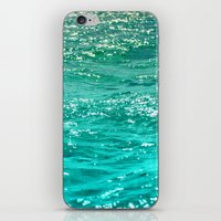 dave grohl iPhone & iPod Skins featuring SIMPLY SEA by Catspaws