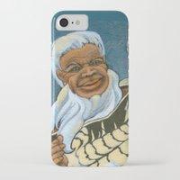 maori iPhone & iPod Cases featuring Koro, the Maori Storyteller by Patricia Howitt