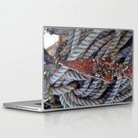 tool Laptop & iPad Skins featuring FISHERMAN'S TOOL by  Agostino Lo Coco