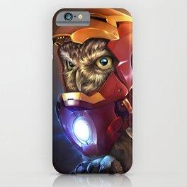 Iron Owl iPhone Case