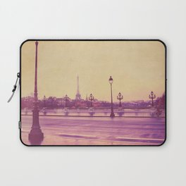 Paris, Glad to See You Again. Laptop Sleeve