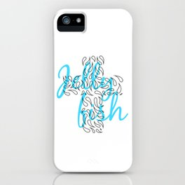Jellyfish Cross iPhone Case